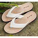 abordables Pantuflas y Chancletas para Hombre-Hombre Zapatos Confort PVC Primavera / Verano Zapatillas y flip-flops Blanco / Negro