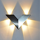 cheap Wall Sconces-Modern Triangle 6W LED Wall Sconce Indoor Hallway Up Down Spot Light Aluminum Decorative Lighting