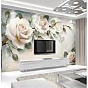 halpa Tapetit-vaaleanpunainen ruusu räätälöity 3d suuri seinämaalaus seinämaalaus tapetti sovi ravintola tv tausta kukka
