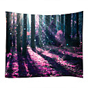 cheap Wall Decor-Garden Theme Horror Wall Decor 100% Polyester Contemporary Modern Wall Art, Wall Tapestries Decoration