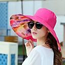 זול שרשרת אופנתית-כובע שמש - גיאומטרי בסיסי בגדי ריקוד נשים / בד / קיץ