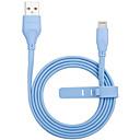 tanie Kable i Ładowarka-Oświetlenie Adapter kabla USB Wysoka prędkość / Szybka opłata Kable Na iPhone 100 cm Na TPE