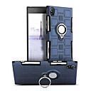 baratos Capinhas para Celular & Protetores de Tela-Capinha Para Sony Xperia XA1 Antichoque / Suporte para Alianças / Rotação 360° Capa traseira Sólido Rígida PC para Sony Xperia XA1