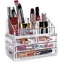 hesapli banyo organizasyonu-Cosmetics Storage Çok-fonksiyonlu Kullanımı Kolay Yüksek kalite Depolama Moda Plastik 1pc - Ev İçin Günlük Kullanım Banyo Çok Fonksiyonlu