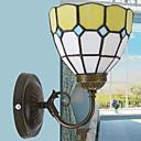 abordables Bombillas LED-Impermeable Rústico / Campestre Lámparas de pared Sala de estar / Dormitorio Metal Luz de pared 220-240V 40W