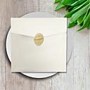 billige Bryllupsinvitasjoner-Sjal & Lomme Bryllupsinvitasjoner 50stk - Kort til forlovelsesfest Kort til bryllupsfest Kort til navnefest Morsdagskort Eksempel på