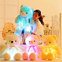 cheap One Pack Hair-Romance Creative Teddy Bear Stuffed Animal Plush Toy Lovely LED Silicone Girls' Toy Gift