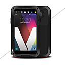 זול מגנים לטלפון & מגני מסך-מגן עבור LG V20 מוגן מים / עפר / הלם כיסוי מלא צבע אחיד קשיח מתכת ל LG V20