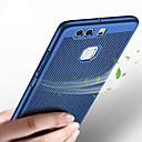 ieftine Cazuri telefon & Protectoare Ecran-Maska Pentru Huawei P10 Lite / P10 Ultra subțire Capac Spate Mată Greu Plastic pentru P10 Plus / P10 Lite / P10
