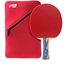 זול שולחן טניס-DHS® E506 Ping Pang/מחבטי טניס שולחן עץ גוּמִי 5 כוכבים ידית ארוכה פצעונים