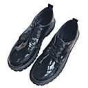 זול נעלי ספורט לגברים-בגדי ריקוד גברים PU אביב / סתיו נוחות נעלי סירה שחור