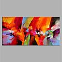 baratos Quadros com Moldura-Pintura a Óleo Pintados à mão - Abstrato Modern Tela de pintura