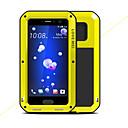 זול מגנים לטלפון & מגני מסך-מגן עבור HTC U11 עמיד בזעזועים עמיד במים כיסוי מלא צבע אחיד קשיח מתכת ל HTC U11