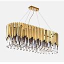 abordables Lámparas Colgantes-QIHengZhaoMing Lámparas Colgantes Luz Ambiente Galvanizado Cristal Protección para los Ojos 110-120V / 220-240V Blanco Cálido Bombilla incluida