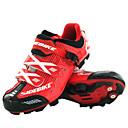 رخيصةأون كنزات المشي-SIDEBIKE للبالغين Mountain Bike Shoes نايلون مكافح الانزلاق, المضادة للاهتزاز, توسيد ركوب الدراجة أحمر وأسود للرجال