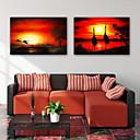 baratos Impressões-Estampados de Lonas Esticada Modern, 2 Painéis Tela de pintura Horizontal Vertical Estampado Decoração de Parede Decoração para casa