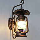 cheap Wall Sconces-Vintage Wall Lamps & Sconces Pathway / Hallway Metal Wall Light 220-240V 20W