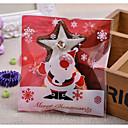 baratos Utensílios de Cozinha-Forma quadrada Plástico Suportes para Lembrancinhas com Estampa Bolsas de Ofertas - 1conjunto