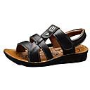 tanie Akcesoria do obuwia-Dla chłopców Obuwie PU Lato Wygoda Sandały na Czarny / brązowy