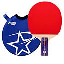 זול שולחן טניס-DHS® R1006 CS Ping Pang/מחבטי טניס שולחן גוּמִי כוכב 1 ידית קצרה פצעונים