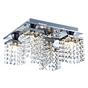 povoljno Flush Mount rasvjeta-Lightinthebox 5-Light Kristal Flush Mount Ambient Light - Crystal, 110-120V / 220-240V Bulb Included / G9 / 20-30㎡