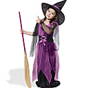 cheap Kids Halloween Costumes-Witch Cosplay Costume Kid's Halloween Festival / Holiday Halloween Costumes Fashion