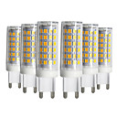 cheap Phone Cables & Chargers-YWXLight® 5pcs Dimmable G9 9W 76LED 2835SMD Corn Lamp Warm White Cool White Natural White LED Ceramics Lamp AC 220-240V