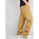 זול בגדי ריצה-בגדי ריקוד גברים מכנסיים לטיולי הליכה חיצוני מאמן תחתיות טיפוס / כדור טניס / ספורט רב פעילותי