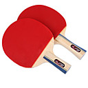 billige Bordtennis-DHS® E2F2 Ping Pang/Bordtennisracketer Tre Gummi Kort Håndtak Langt Håndtak Kviser