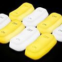 זול מזכרות מחזיקי מפתחות-לא מותאם אישית פלסטיק ABS סוג א' אורות LED אחרים זוג חברים יום הולדת לבוש יומיומי