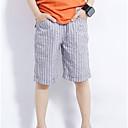 ieftine Pantaloni Băieți-Copii Băieți Dungi Pantaloni Gri 140