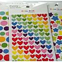 זול מזכרות מחזיקי מפתחות-רומנטיקה / אהובה מדבקות, תוויות ותגיות - 6 pcs מדבקות כל העונות