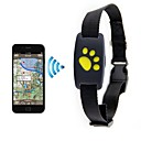 cheap Dog Clothes-Dog Smart Trackers Locater GPS Real-time Positioning Waterproof&Dustproof PP+ABS Black