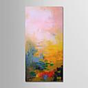 preiswerte Abstrakte Gemälde-Hang-Ölgemälde Handgemalte - Abstrakt Modern Segeltuch