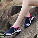 preiswerte Hochzeit Dekorationen-Damen Schuhe Atmungsaktive Mesh Sommer Komfort Loafers & Slip-Ons Flacher Absatz Runde Zehe Fuchsia / Hellgrau / Blau+Rosa