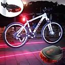 ieftine Pachete de Hidratare-Iluminat Bicicletă Spate / lumini de securitate / luminile din spate LED Lumini de Bicicletă LED Ciclism Portabil, Ușor Baterie reîncărcabilă 300 lm Baterii alimentate Roșu / Albastru Ciclism