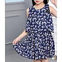 זול שמלות לבנות-בנות מכנסיים - פרחוני ורוד מסמיק 140 / כותנה / חמוד