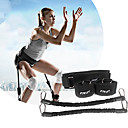 cheap Fitness Gear & Accessories-Exercise Resistance Bands With Metal Portable, Detachable, Strength Training Explosive Power Training, Vertical Bounce Trainer, Leg Strength Muscle For Yoga / Taekwondo / Boxing Leg