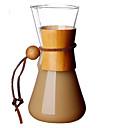 tanie Kawa i herbata-szkło Słodki / żaroodporne / Kreatywne 1 szt. Czajnik do kawy