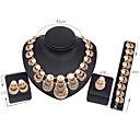 cheap Bag Sets-Women's Jewelry Set - Gold Plated Vintage, Fashion Include Bridal Jewelry Sets Gold For Wedding Party