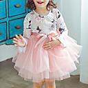 זול מגנים לטלפון & מגני מסך-שמלה כותנה קיץ סתיו יומי חגים פרחוני טלאים הילדה של חמוד יום יומי ורוד מסמיק אפור