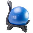 povoljno Dijelovi za motocikle i ATV-Lopta za balans Pumpa za stopalo Lopta za vježbu / lopta za jogu 55cm Prečnik PVC PE Kotači Stabilnost Ergonomsko Fizikalna terapija Trening ravnoteže Yoga Pilates Sposobnost Za Dom Ured