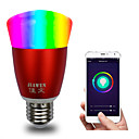 cheap Smart Lights-E27 RGBW Smart Wifi Bulb 16Million Colours APP Control Dimmable LED Light Bulb Works with Alexa Google Home AC85-265V