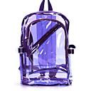 halpa Reput-Naisten Kassit PVC Backpack Vetoketjuilla Musta / Oranssi / Purppura / Läpinäkyvät laukut / Laser Jelly Laukut