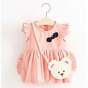 hesapli Anime Cosplay Aksesuarları-Bebek Genç Kız Desen Desen Kolsuz Elbise / Sevimli / Toddler
