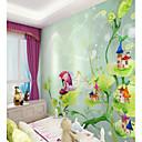 levne Tapety-customized karikatura list chalupa 3d velké wallcovering nástěnné tapety namontované ložnice restaurace děti