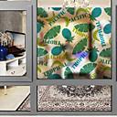 tanie סרטים ומדבקות לחלון-Folie okienne i naklejki Dekoracja Nowoczesny Wzór 3D Polichlorek winylu Naklejka okienna / Matowy / Urząd / Salon