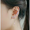 ieftine Inele la Modă-Pentru femei Zirconiu Cubic Franjuri Cătușe pentru urechi / Cățărătorii de urechi - Argilă Ciucure, Modă Argintiu Pentru Nuntă / Petrecere