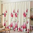 billige Mørkleggingsgardiner-gardiner gardiner Stue Moderne Bomull / Polyester Trykket