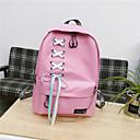 cheap Backpacks-Women's Bags Canvas Backpack Zipper Blushing Pink / Beige / Gray